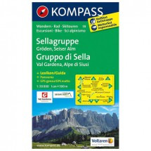 Kompass - Sellagruppe - Wandelkaarten