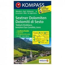 Kompass - Sextner Dolomiten/Dolomit di Sesto - Vaelluskartat