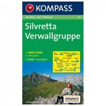 Kompass - Silvretta - Wandelkaarten