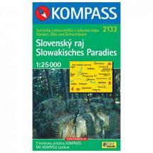 Kompass - Slovensky raj - Cartes de randonnée