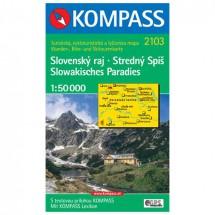 Kompass - Slovensky raj-Stredny Spis /Slowakisches Paradies