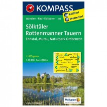 Kompass - Sölktäler - Hiking Maps