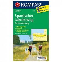 Kompass - Spanischer Jakobsweg - Cartes de randonnée