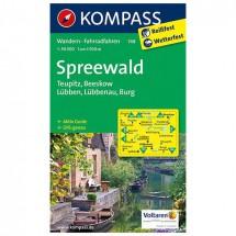 Kompass - Spreewald - Wandelkaarten