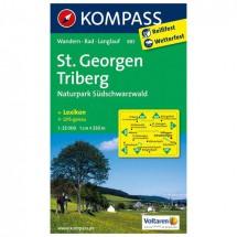 Kompass - St. Georgen - Wandelkaarten