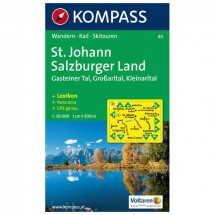 Kompass - St. Johann - Wandelkaarten