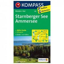 Kompass - Starnberger See - Ammersee - Wanderkarte
