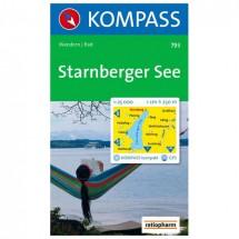 Kompass - Starnberger See - Wandelkaarten