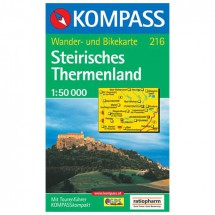 Kompass - Steirisches Thermenland - Hiking Maps