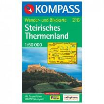 Kompass - Steirisches Thermenland - Cartes de randonnée