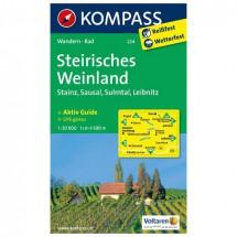 Kompass - Steirisches Weinland - Vaelluskartat