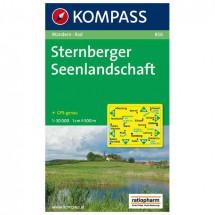 Kompass - Sternberger Seenlandschaft - Wanderkarte