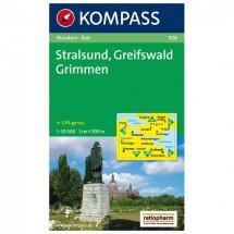 Kompass - Stralsund - Wanderkarte