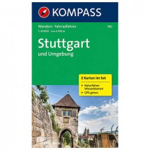Kompass - Stuttgart und Umgebung - Cartes de randonnée