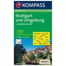 """Kompass - Stuttgart und Umgebung """"""""Schwäbische Alb"""""""""""