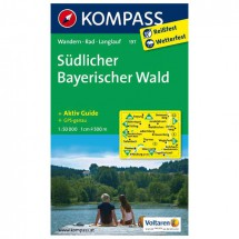 Kompass - Südlicher Bayerischer Wald - Cartes de randonnée