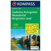 Kompass - Südliches Ruhrgebiet - Wanderkarte