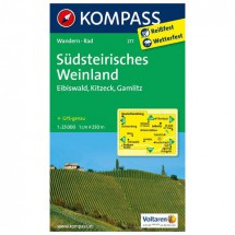Kompass - Südsteirisches Weinland - Cartes de randonnée