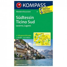 Kompass - Südtessin - Hiking Maps