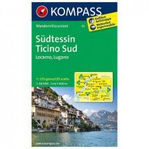 Kompass - Südtessin - Wanderkarte