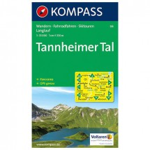 Kompass - Tannheimer Tal - Wandelkaarten
