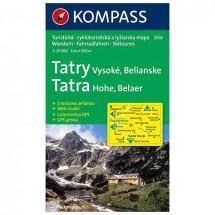 Kompass - Tatry Vysoke - Wandelkaarten