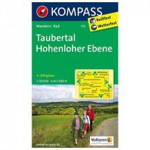 Kompass - Taubertal - Wanderkarte