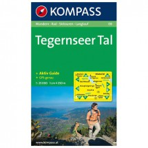 Kompass - Tegernseer Tal - Wandelkaarten
