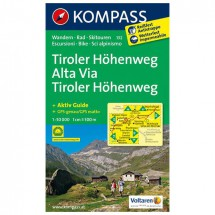 Kompass - Tiroler Höhenweg - Wandelkaarten