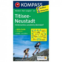 Kompass - Titisee - Wanderkarte