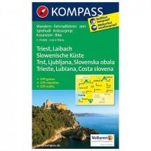 Kompass - Triest - Cartes de randonnée