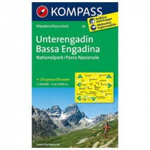 Kompass - Unterengadin - Wanderkarte