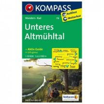 Kompass - Unteres Altmühltal - Wanderkarte