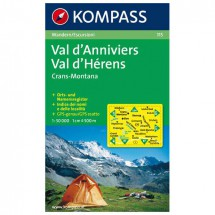 Kompass - Val d'Anniviers - Hiking Maps