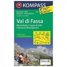 Kompass - Val di Fassa - Vaelluskartat