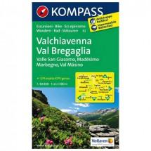 Kompass - Valchiavenna - Wandelkaarten