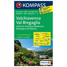Kompass - Valchiavenna - Wanderkarte
