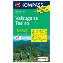 Kompass - Valsugana - Tesino - Wanderkarte