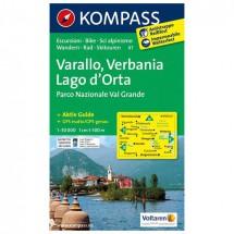 Kompass - Varallo - Wandelkaarten