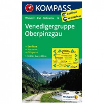 Kompass - Venedigergruppe - Hiking Maps