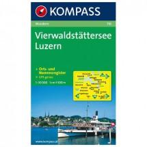 Kompass - Vierwaldstätter See - Wanderkarte