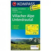 Kompass - Villacher Alpe - Cartes de randonnée