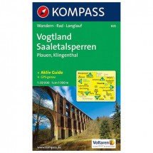 Kompass - Vogtland - Wanderkarte