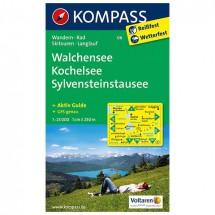 Kompass - Walchensee - Wandelkaarten