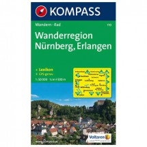 Kompass - Wanderregion Nürnberg - Hiking Maps