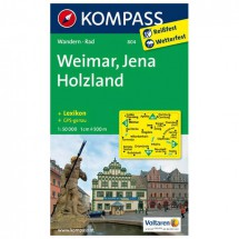 Kompass - Weimar/ Jena/ Holzland - Hiking Maps