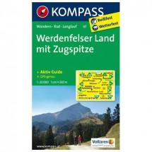 Kompass - Werdenfelser Land /Zugspitze - Cartes de randonnée