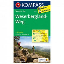 Kompass - Weserbergland-Weg - Wanderkarte