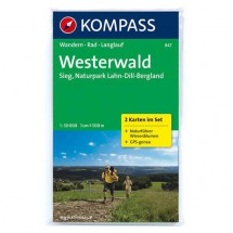 Kompass - Westerwald - Cartes de randonnée