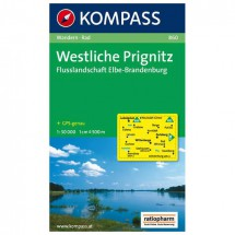Kompass - Westliche Prignitz - Wanderkarte